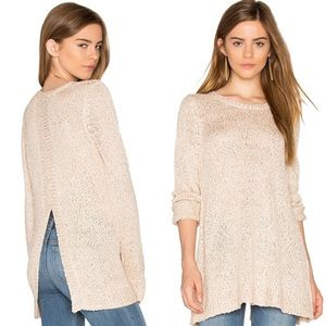 Jack By BB Dakota Warrane Metallic Sequin Sweater